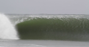 Insane surfing action from Donkey bay in Namibia