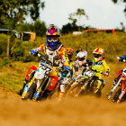 MX racing action at Rover in PE