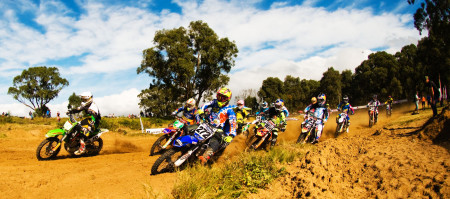 Motocross action at its best in PE at the Rover MX track