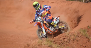 Louw Schmidt motocross video while riding at Chestnut Hill and Rhino Park