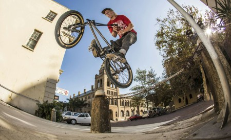 Up and coming DayLife rider Murray Loubser