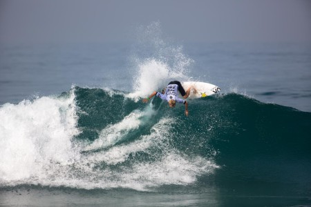 Davey Cathels surfed his way into 2nd place at the Ballito pro 2015