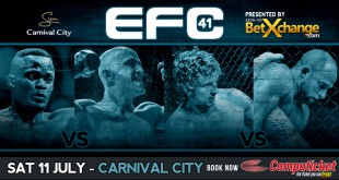 MMA action hits Carnival City for EFC 41