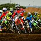 Open support class at the Motocross Nationals