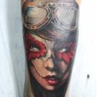 The amazing tattoo work by Thys Uys