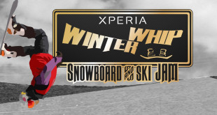 Xperia Winter Whip to feature snowboarding and skiing action