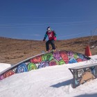 Mawa Jekot snowboarding her way to Winter Whip victory
