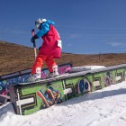 Erin Nel improving every year with her Snowboarding skills