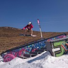 Sean Irwin Snowboarding his way to victory in the Amateur division