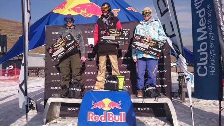 Xperia Winter Whip Amateur Podium
