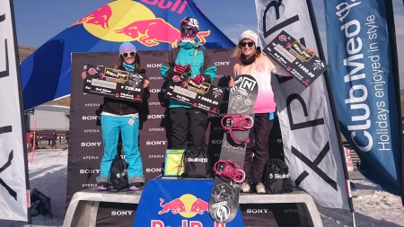 Xperia Winter Whip Ladies Podium