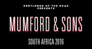 Mumford & Sons announce SA Tour