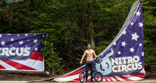 Nitro Circus star Ryan Williams has landed the world's first BMX Triple Frontflip. Watch the video here.