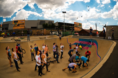 BMX vibes at the Redemption Jam 2015