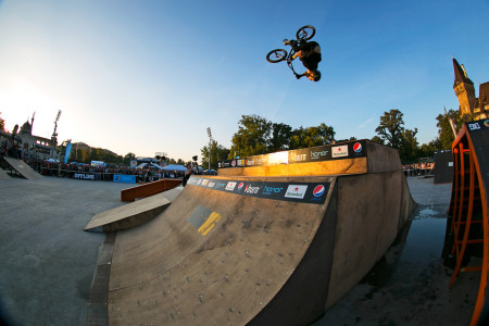 We interview Alex Coleborn about competing at the Ultimate X BMX contest