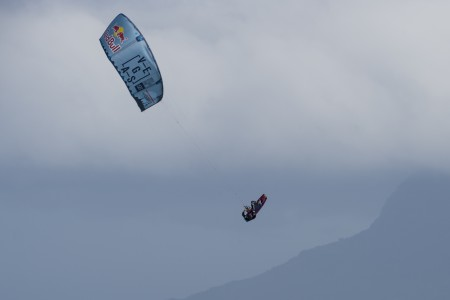 Aaron Hadlow kiteboarding his way to Red Bull King of the Air victory