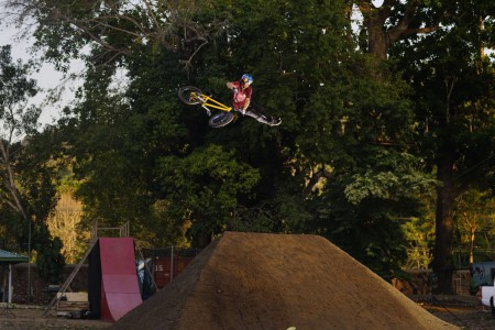 Costa Rican BMX rider Kenneth Tencio talks Ultimate X