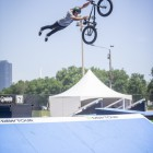 Sickest Superman Seatgrab in the BMX game by Kevin Peraza