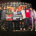 Rider Cup Skateboarding podium