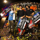 Ultimate X 2016 BMX Podium