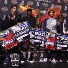 Ultimate X 2016 Skateboarding podium
