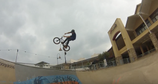 Watch Martic De Jager destroying the Bightwater Skate Park during one last BMX session