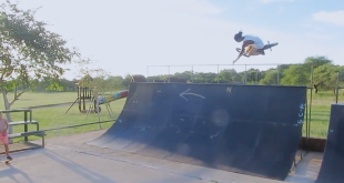 Sweet BMX edit of Nathi Nkosi smashing two of his local skateparks in Joburg. This kid is on fire.