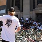 Greg Illingworth at the #Ride4Ray memorial BMX Jam