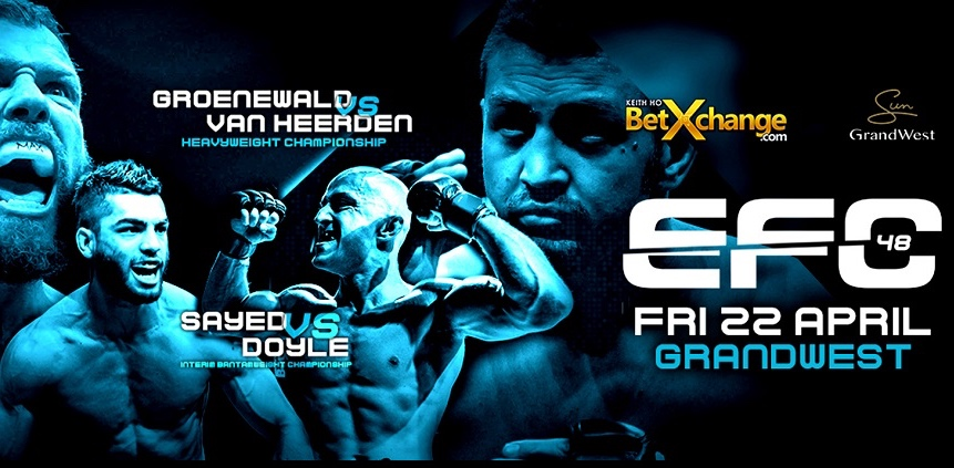 EFC 48 bringing 11 exciting MMA fights to Cape Town