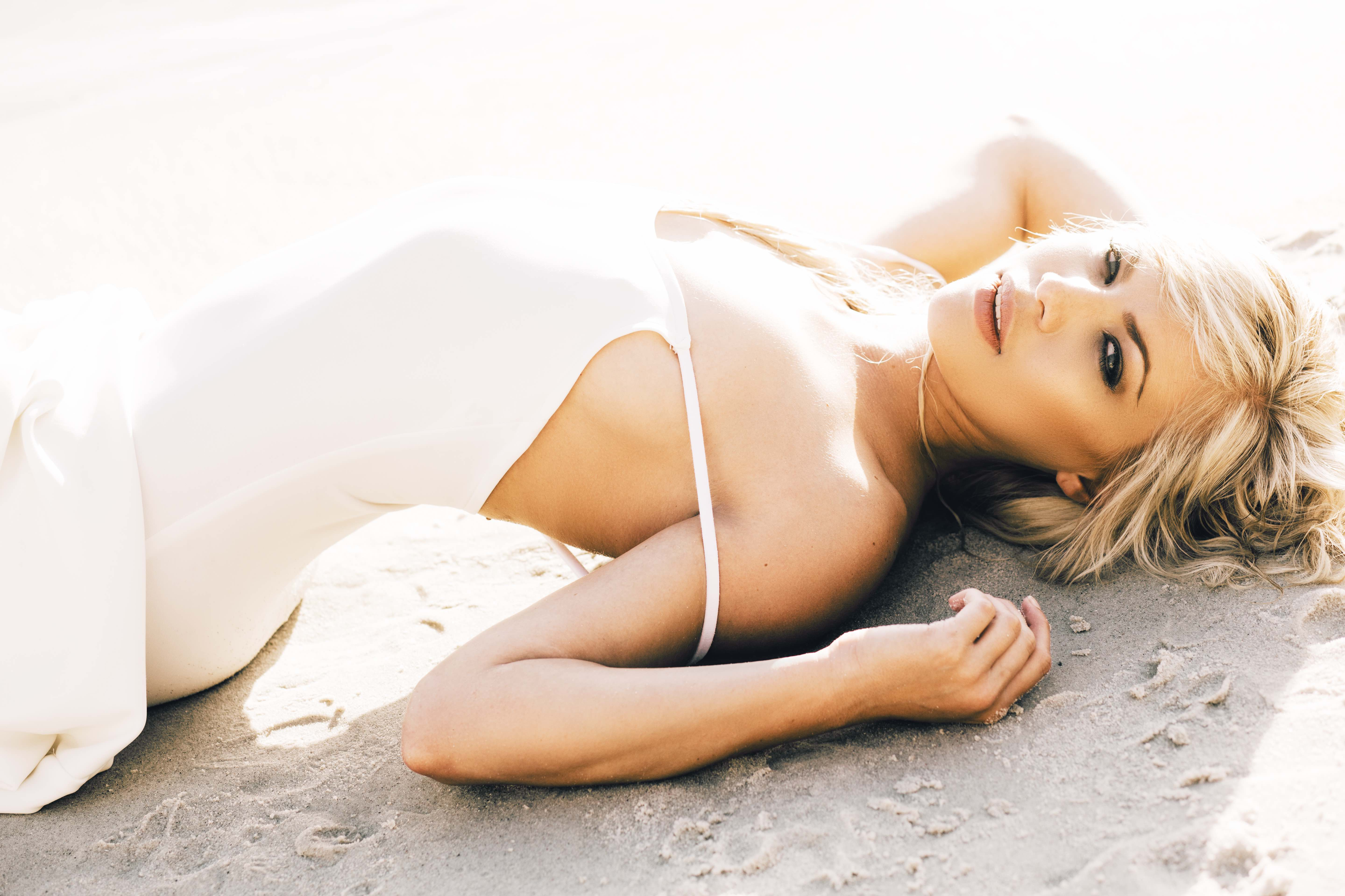 Our South African girls feature with the gorgeous Monica van der Bank