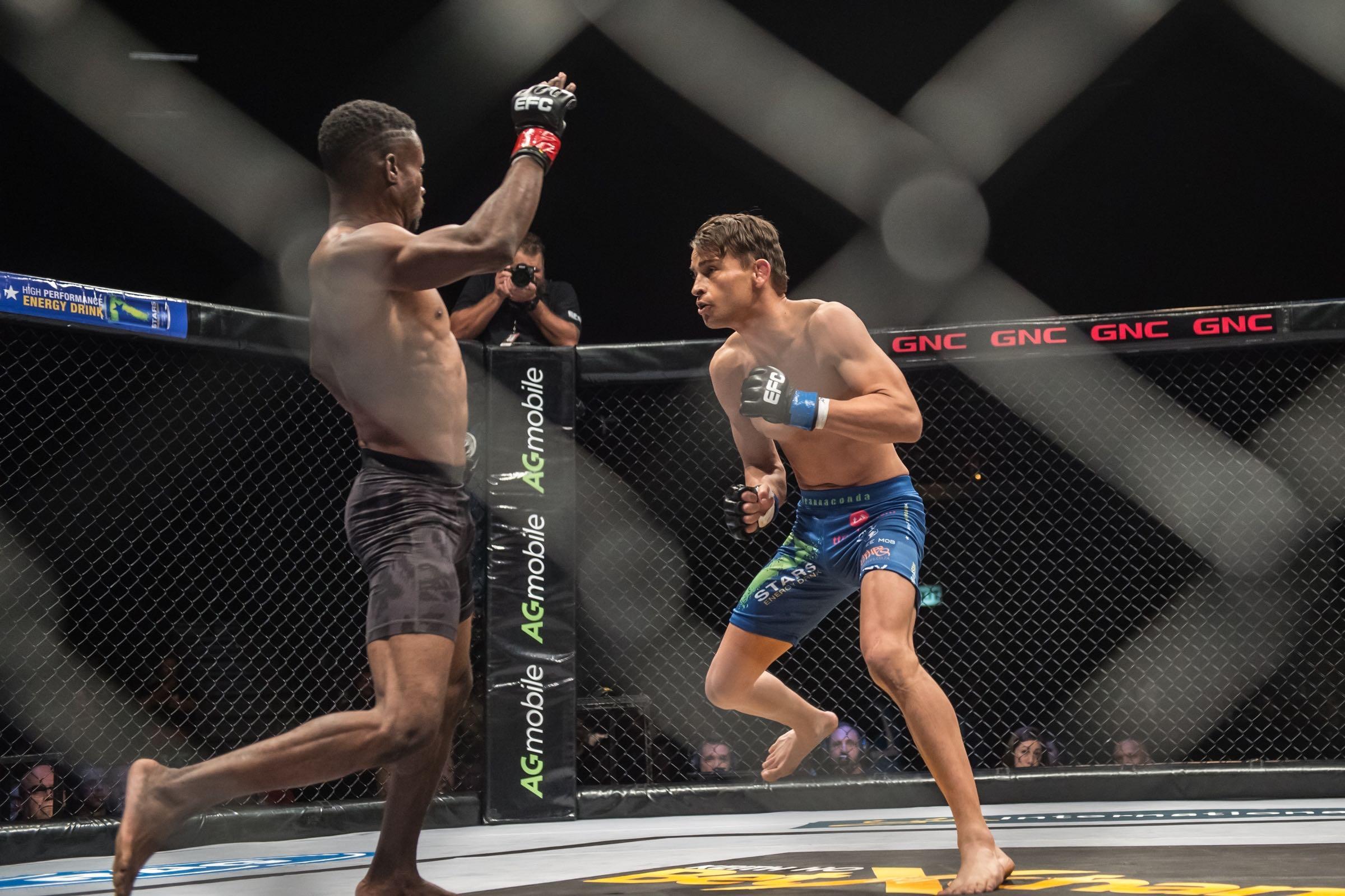 Francois Groenewald vs Boney Bukaka