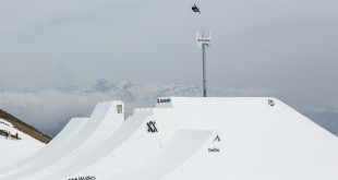 At the recent Suzuki Nine Knights Snowboarding and Skiing event Christian Haller and David Wise claimed World records during the Perfect Hip contest.