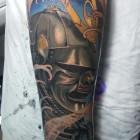A tattoo masterpiece done by Bryan Du Rand