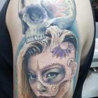 An example of Bryan Du Rand's tattoo work