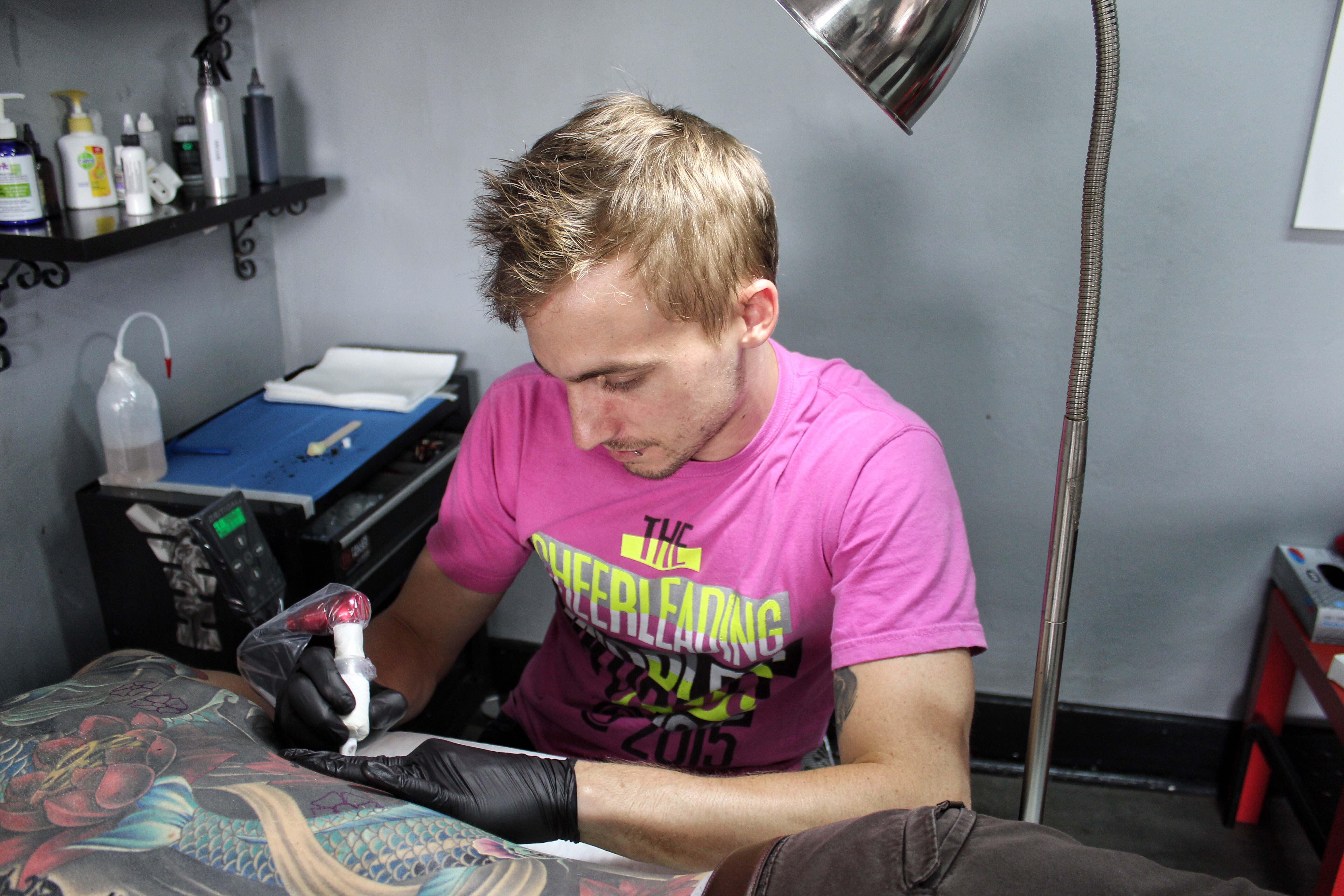 Bryan Du Rand of Fallen Heroes is our featured Tattoo Artist of the Week