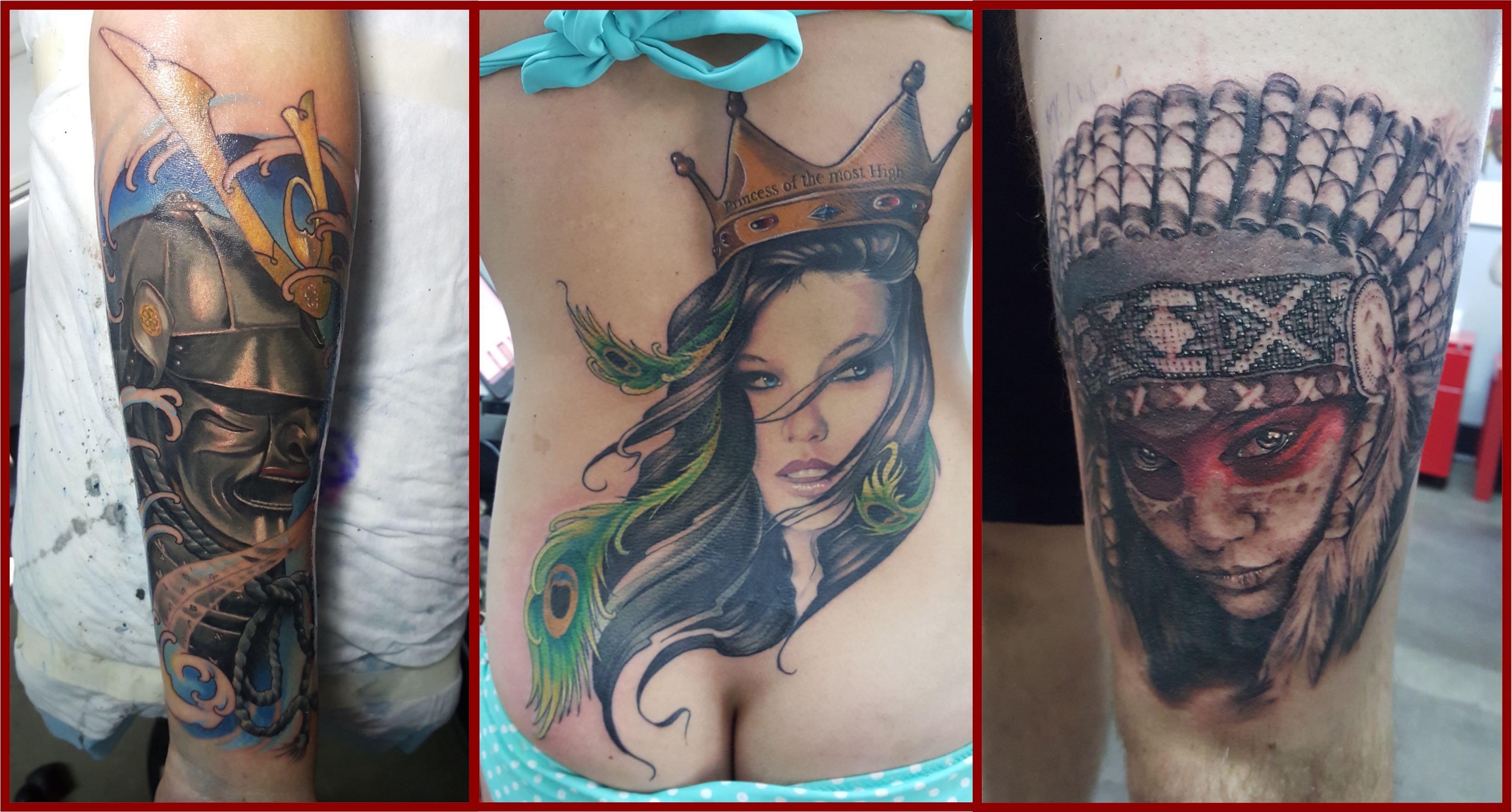 Tattoos by Bryan Du Rand