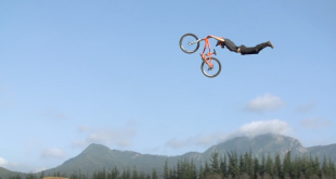 Witness some of the biggest MTB jumps ever ridden in Pure Darkness 3