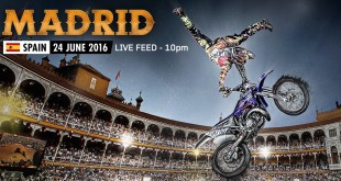 Watch the live stream from Red Bull X-Fighters Madrid 2016