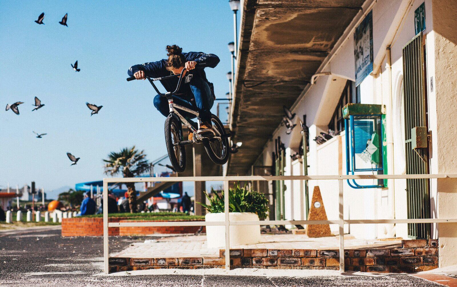 BMX skills by Cape Town's Brandon Blight