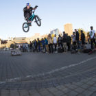 Murray Loubser - Dominating the Evals BMX long jump contest