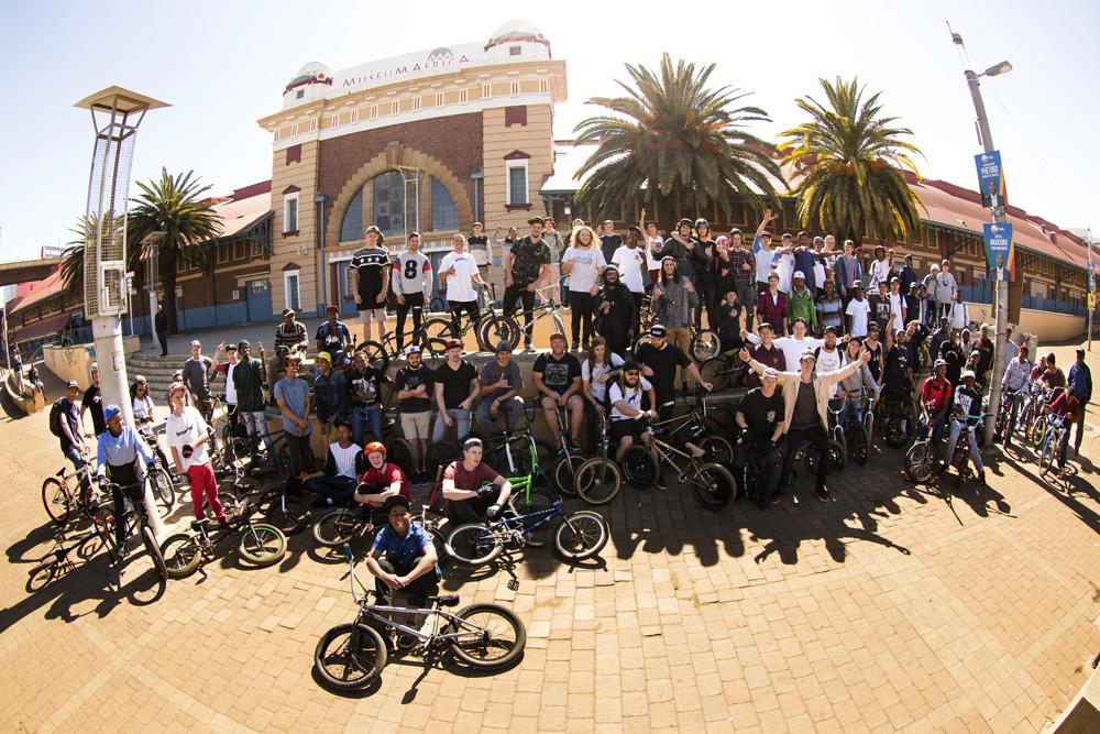BMXDAY 2016 Johannesburg - Squad rolling deep
