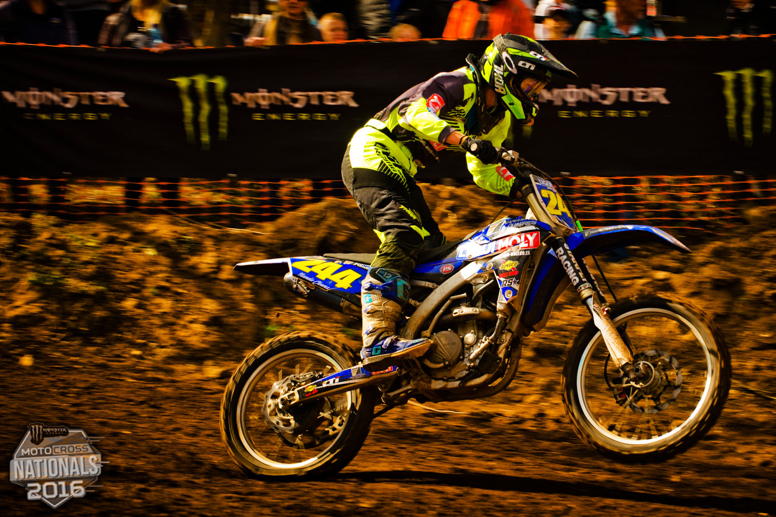 Nanda Clowes taking the win in the Ladies division at round 4 of the SA MX Nationals