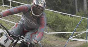Greg Minnaar finishes in 3rd place and scores his 70th career podium at the Lenzerheide, Switzerland Downhill MTB World Cup