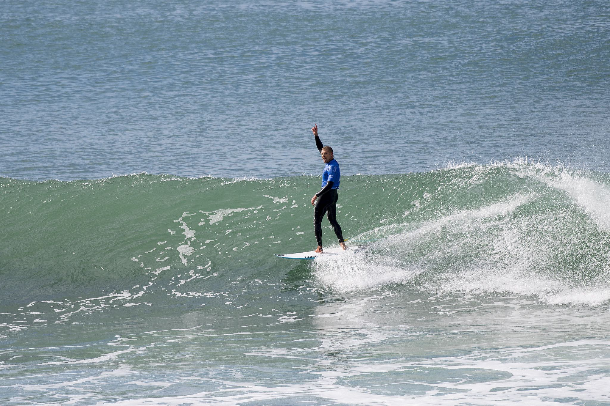 Mick Fanning claiming victory at the 2016 J-Bay Open of Surfing