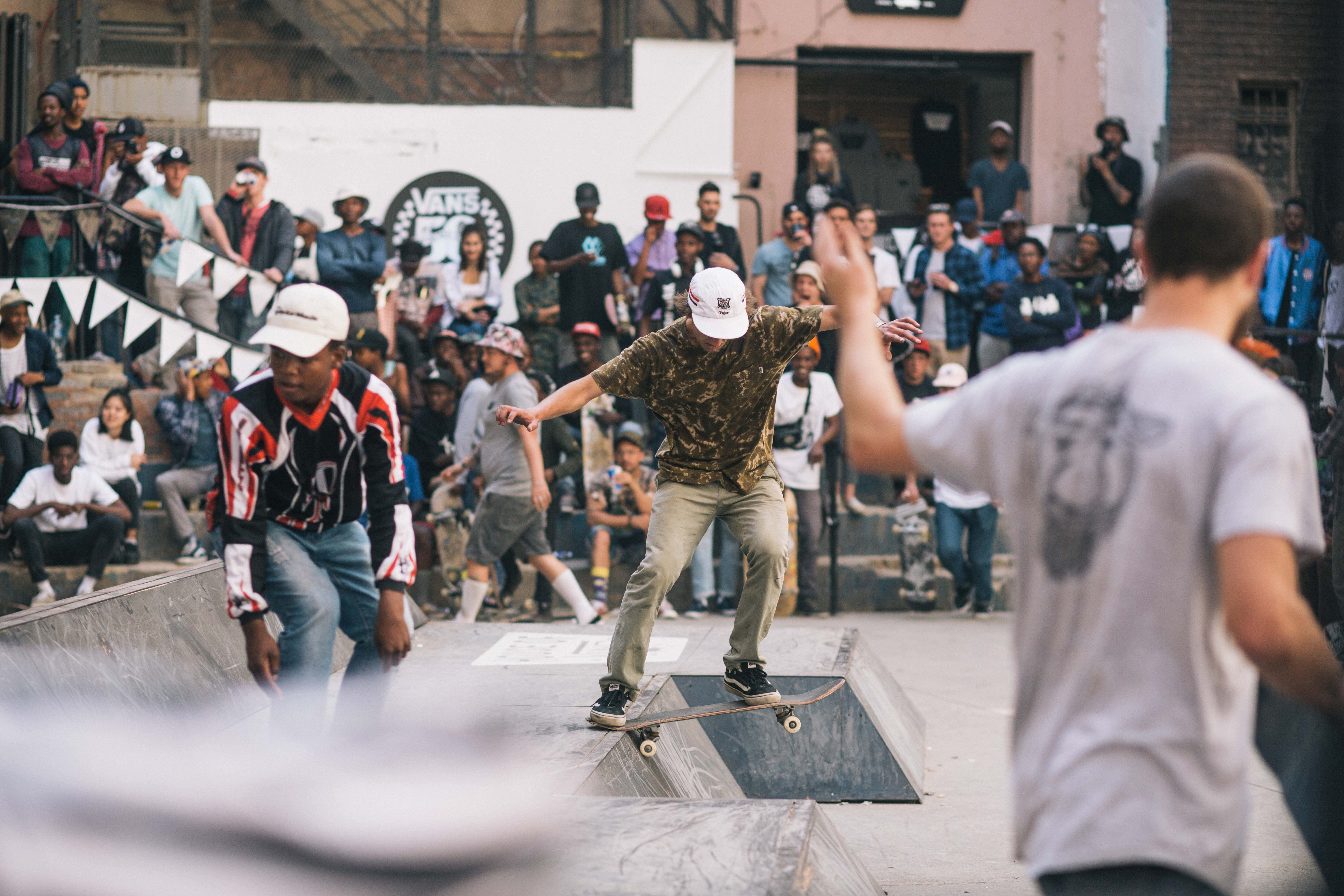 Skateboarding at its best at House of Vans Johannesburg