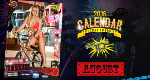 Go behind the scenes on our 2016 LW Mag Calendar shoot with our Miss August Calendar Girl, Carla Rubin