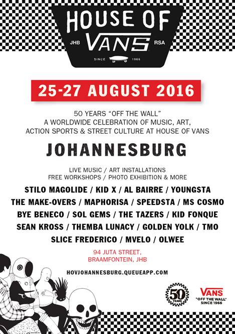 House of Vans Johannesburg featuring skateboarding, art and music