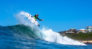 Adin Masencamp surfing his way to the Billabong Junior Series final