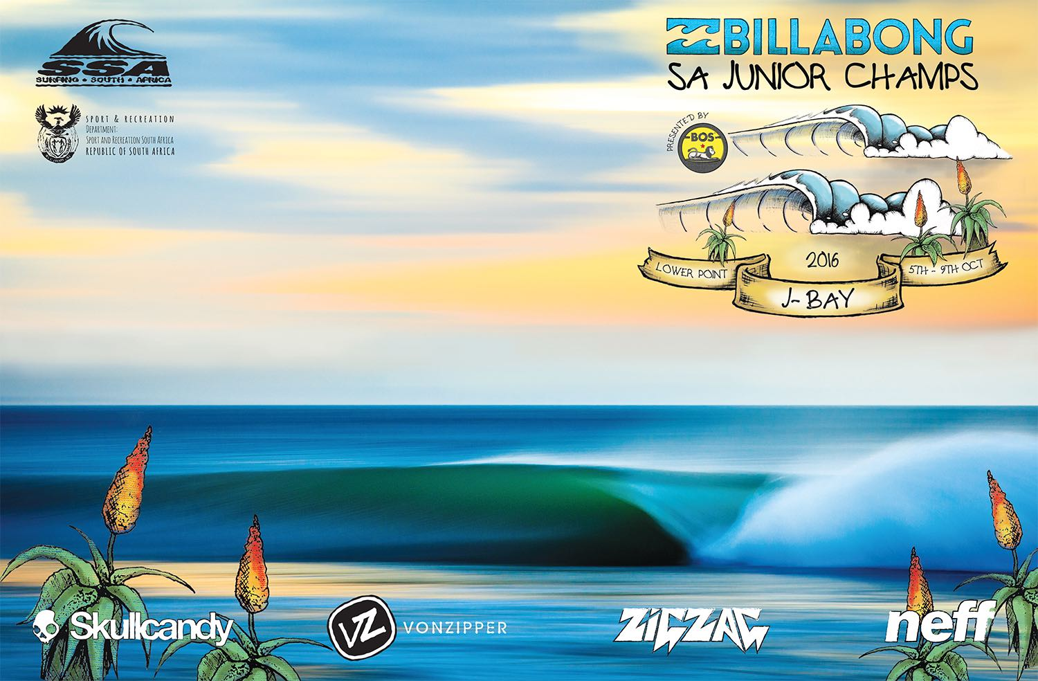 The Billabong SA Junior Surfing Champs event
