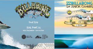 Billabong presents Back-To-Back Junior Surfing events